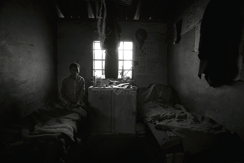 Bruce Connew  South Africa #16 , 1985 Selenium-toned, silver gelatin, fibre print Dimensions variable Edition open  _______
