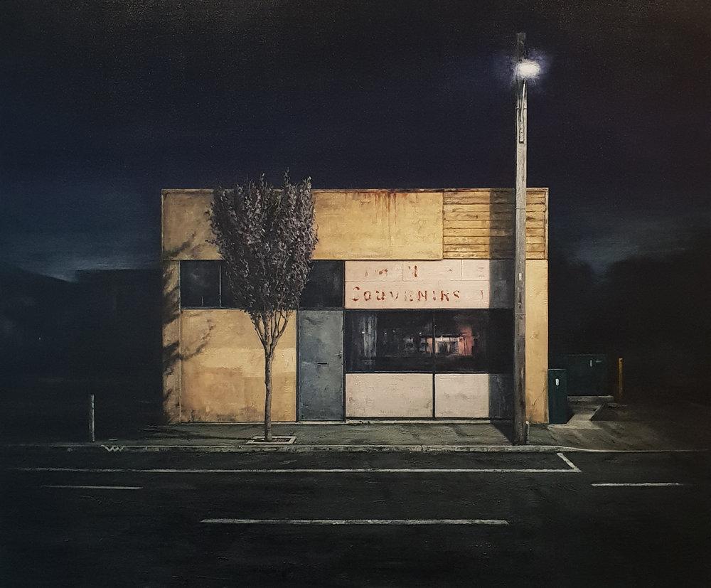 Daniel Unverricht  Center,  2018 Oil on linen 1525 x 1825 mm [Private collection]  _______