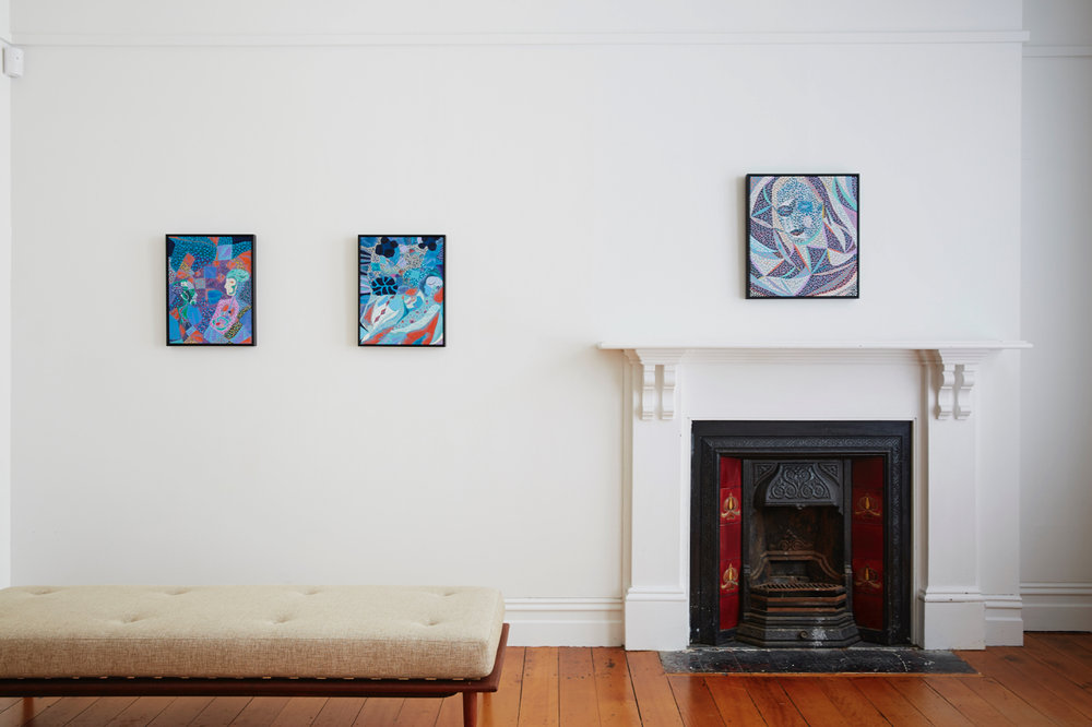 Arie Helledoorn Installation view {Suite}, Wellington  ______