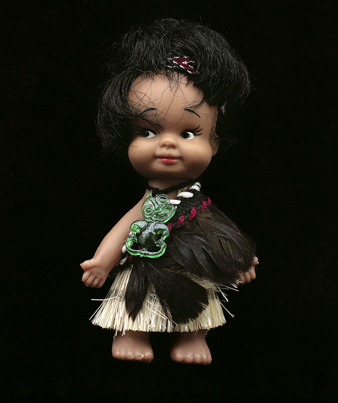 Ans Westra  Maori Doll  2, 2004 C print dry-mounted to dibond 1470 x 1240 mm Edition of 6 plus 2 APs $6,800 incl. GST  _______
