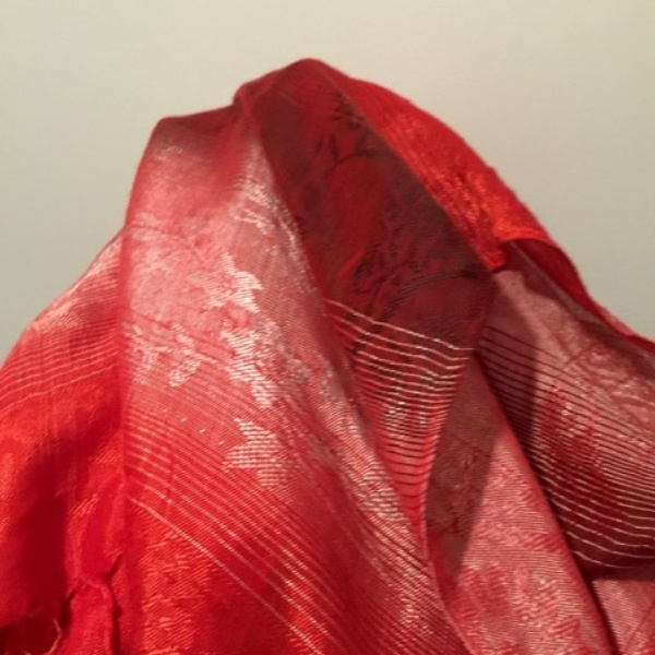 Peter Peryer  Blood Veil,  2015 Pigment inks on paper 595 x 600 mm  ______