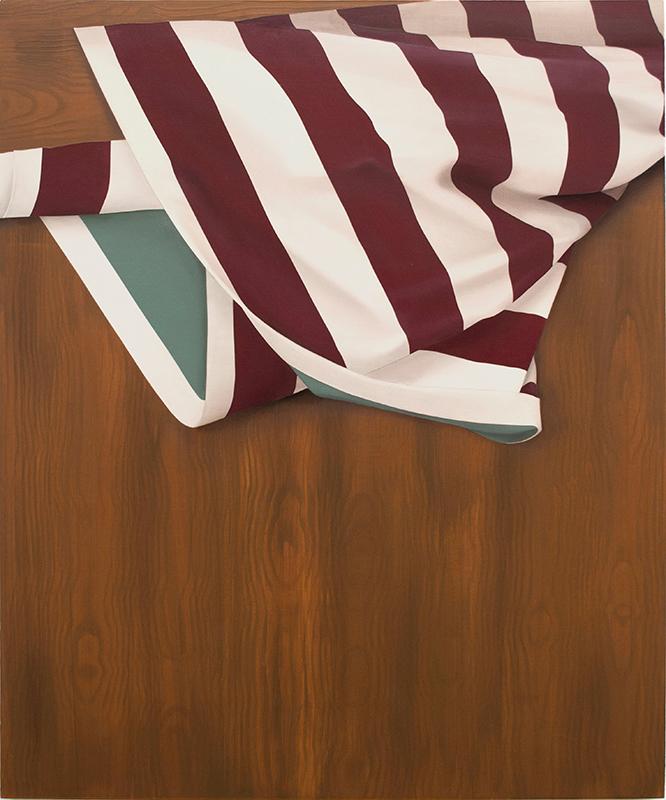 Casey Jeffery  Involute,  2019 Acrylic and oil on board 500 x 600 mm $1,700 incl. GST  ______