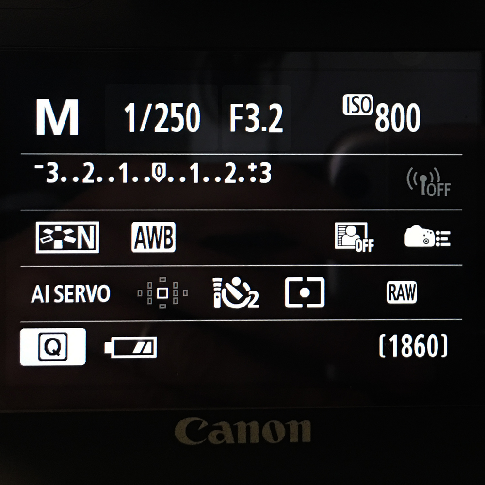How to use your camera on manual mode