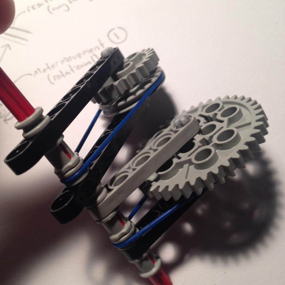 Lego sketch model