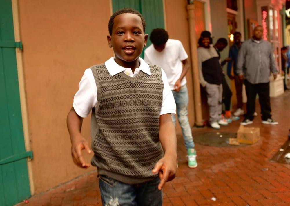 Derek Sosa, Tap Dancer. Bourbon Street, French Quarter. November 21, 2015.