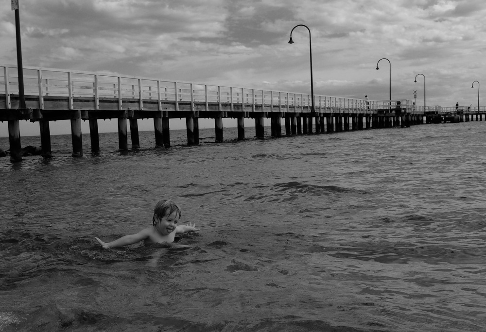 Port Melbourne Beach.