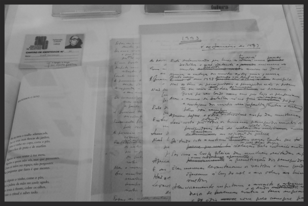 Saramago's identification card and papers.