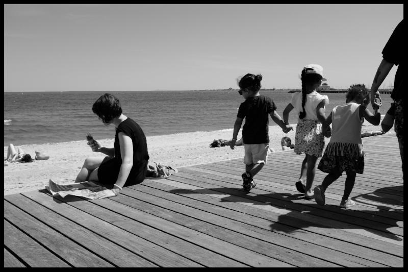 St Kilda Boardwalk.