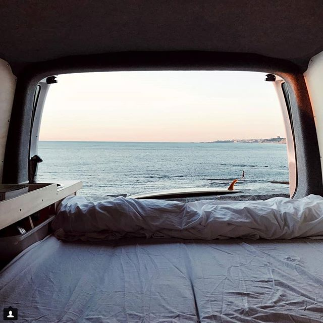 Dream up a better Sunday Morning view, we will wait....10/10 van life vibes with Miss Katrina Parker. Her pictures look even better in real life, we should know they are hanging in our front bar #isurfbetterinmydreams 📷 @katrinaparker