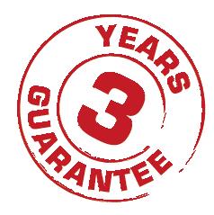 Starline bietet 3 Jahre Garantie
