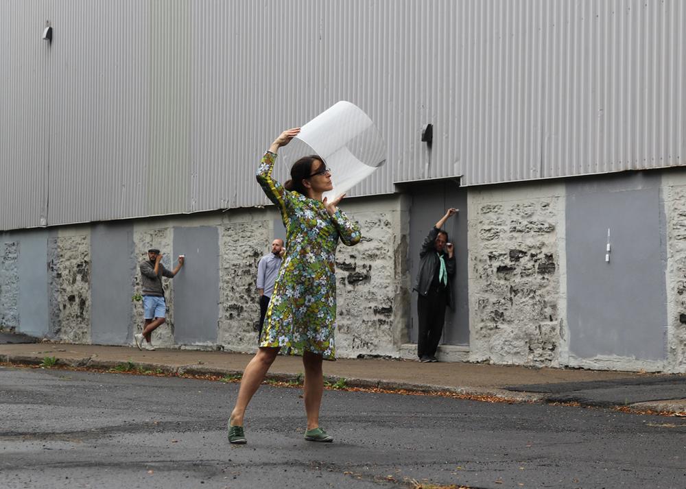 Caroline Boileau,  La peau entre les mondes . DARE-DARE, Montreal, 2015. Photo © Mariane Stratis