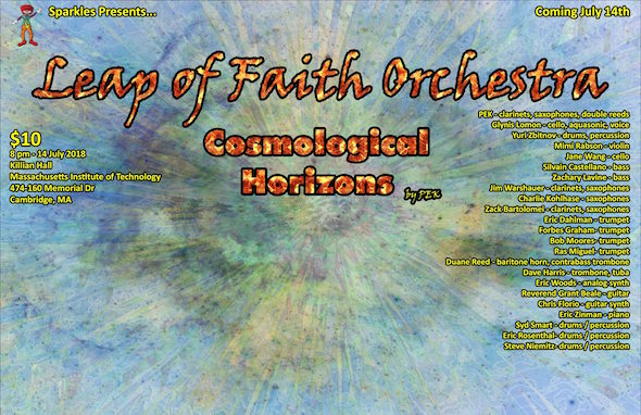 Leap of Faith Orchestra performs Cosmological Horizons by