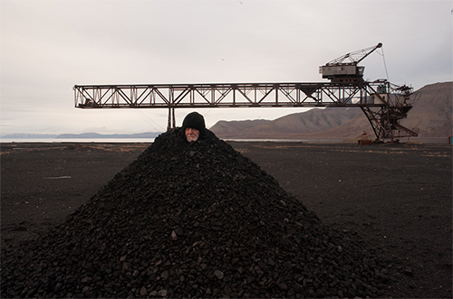 Image credit: Alastair MacLennan,  Coal a Goal , 2015
