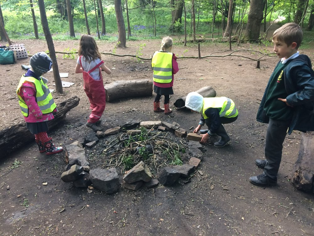 Rebuilding the fire circle