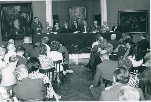 Twentieth General Assembly in Bordeaux, France 1968.
