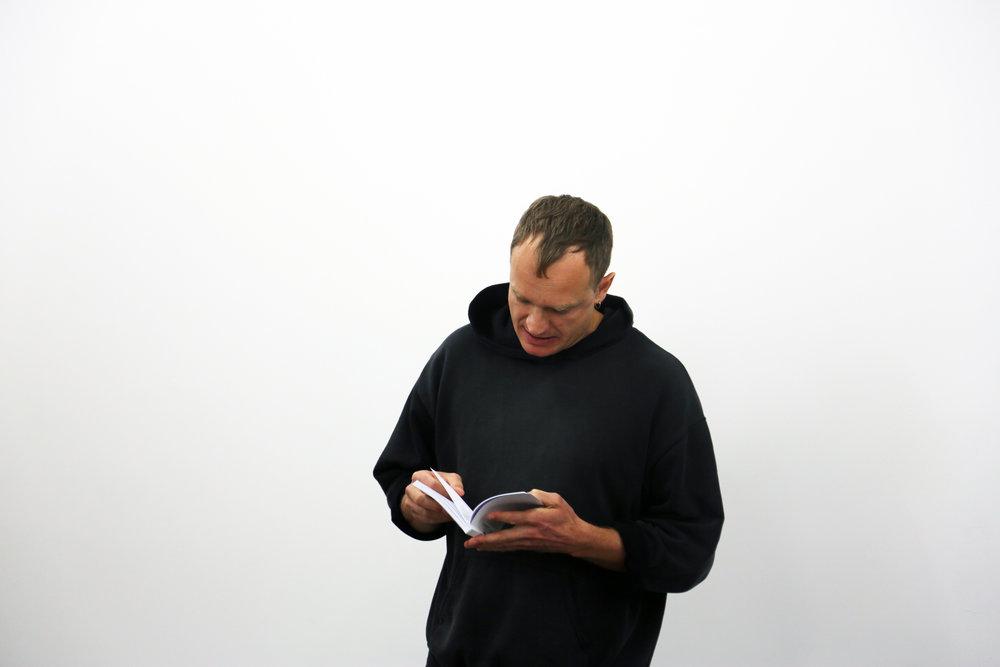 Jesper List Thomsen reading from BASE BASE