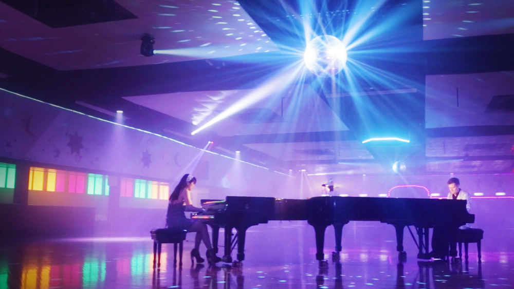 Stills from the upcoming Lose Yourself to Dance music video