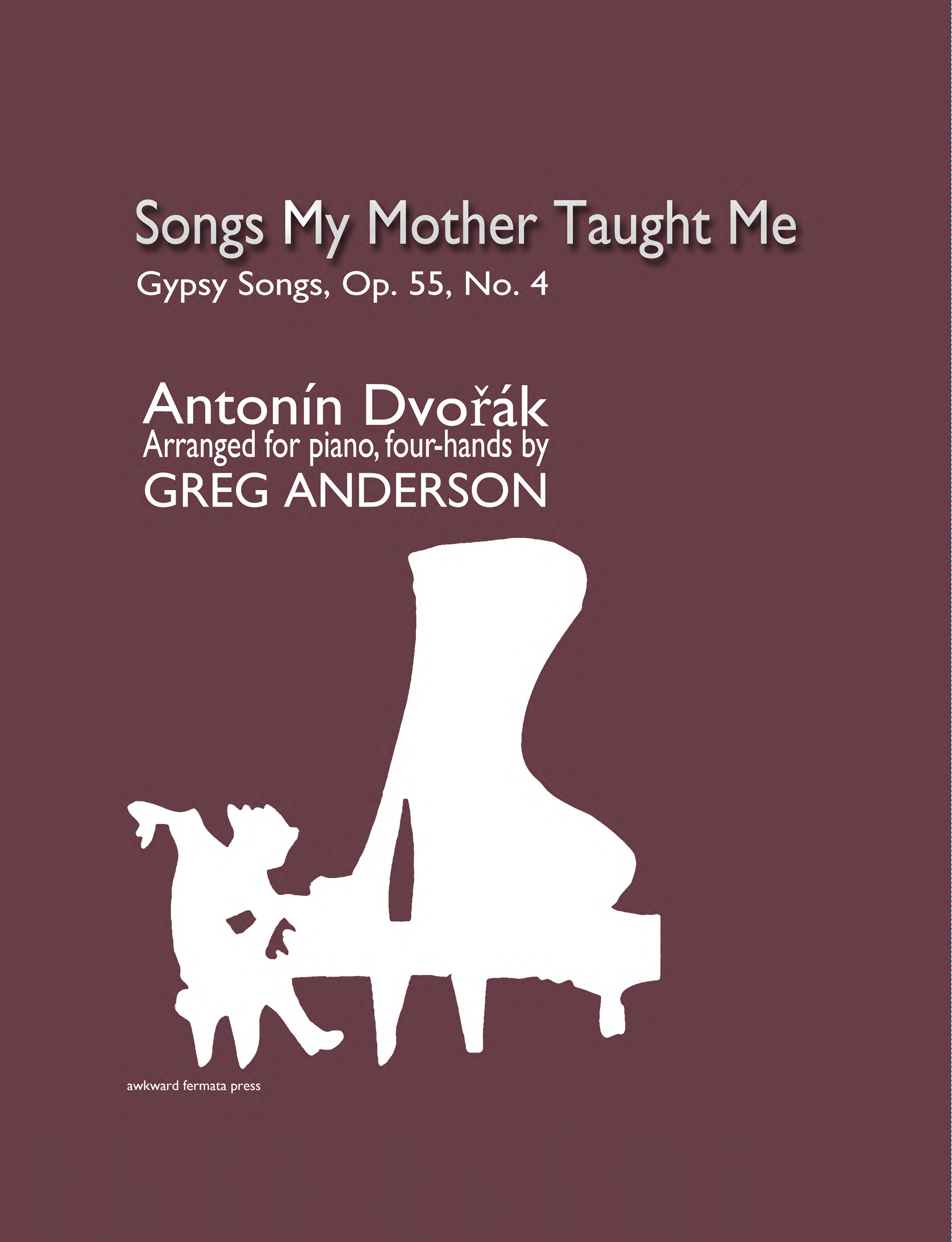 Dvořák: Songs My Mother Taught Me — Anderson & Roe Piano Duo