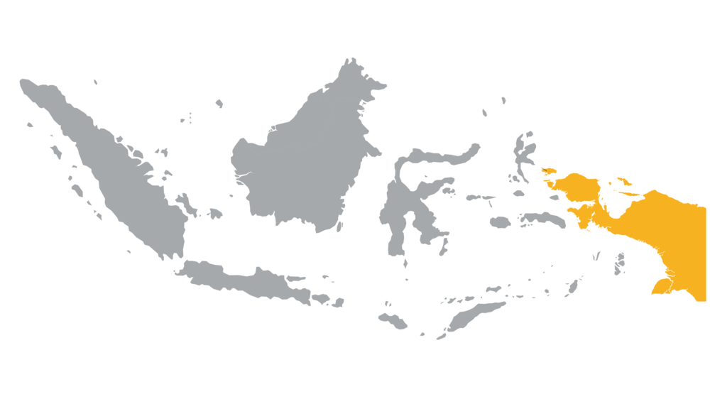 Tanah Papua, comprised of Papua and West Papua is located in the easternmost part of Indonesia.