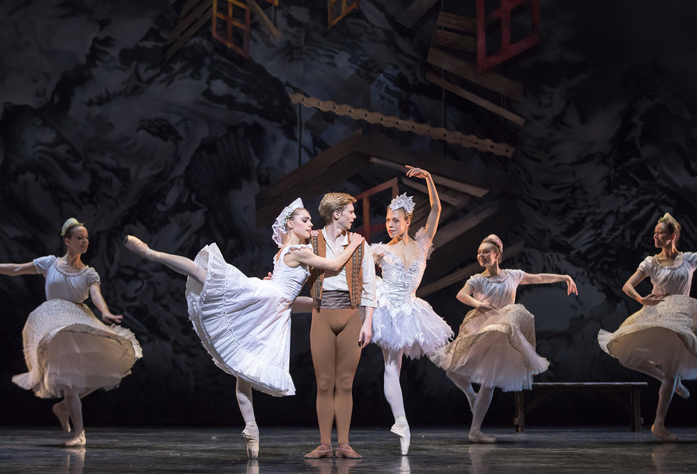 Scottish Ballet's Bethany Kingsley-Garner, Andrew Peasgood and Constance Devernay in Sir Kenneth MacMillan's The Fairy's Kiss. Photo by Andy Ross.jpg