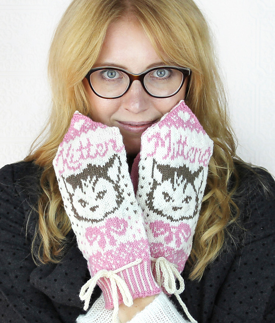 These one's brought a wee tear to my eye as the late great JB always called me The Mitten Kitten x