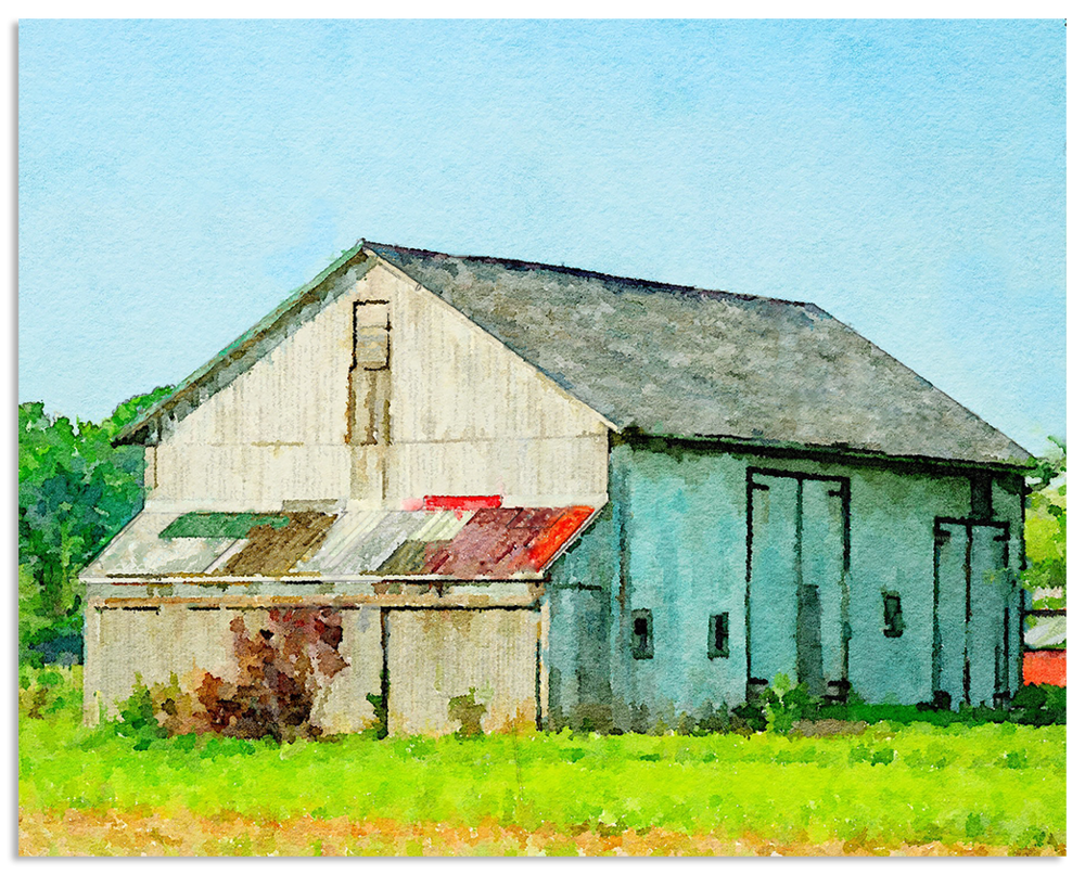 Lancaster Barn - Multicolored Panels