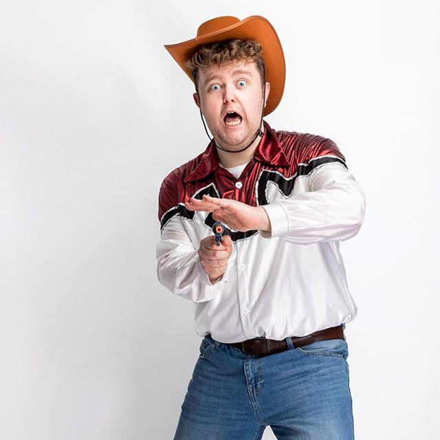 Redmond from Kids With Beards Comedy group (@kidswithbeardscomedy). . . . #comedy #kidswithbeards #kidswithbeardscomedy #brighton #western #cowgirl #cowboy #studio #profoto #profotob2 #profotousa #profotouk #canonuk #portrait #strobist #studio #gun #brightonfringe #fringe #cowboyhat #portablestudio #canon #canon5dmkiv #wine #girl #studiophotography #canon85mm12 #85mm12 #portraitphotography #5dmarkiv