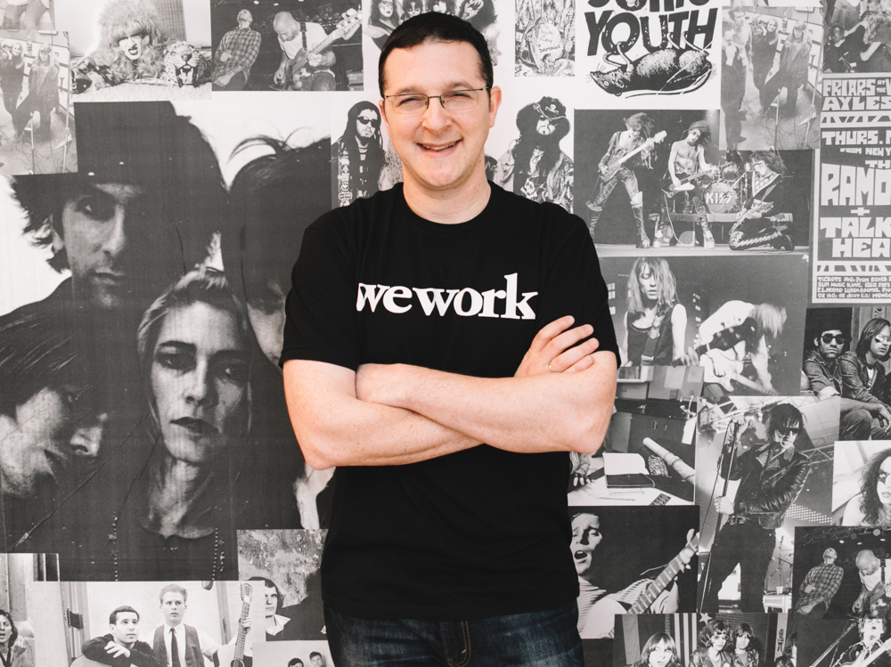 Roee Adler, Global Head of WeWork Labs (Photo courtesy of WeWork)