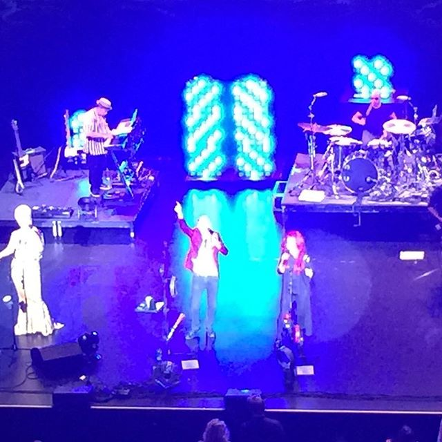 The B-52s, what a fun night!!! 37 years strong!  #b52