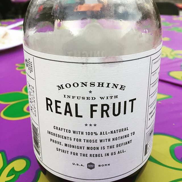 We are in South Carolina!! At a Cajun inspired wedding party!!! #moonshine #yeahthatgreenville