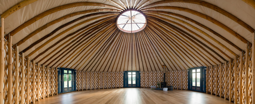 AMAZING NEW YURT AT 42 ACRES FOR THE BREATHING AND YOGA SESSIONS
