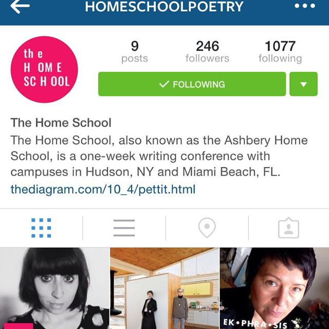 MAKE SURE YOU FOLLOW @homeschoolpoetry 🐸