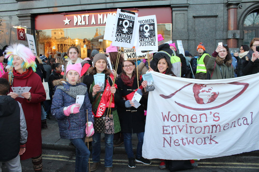 WEN at the Women's March in London