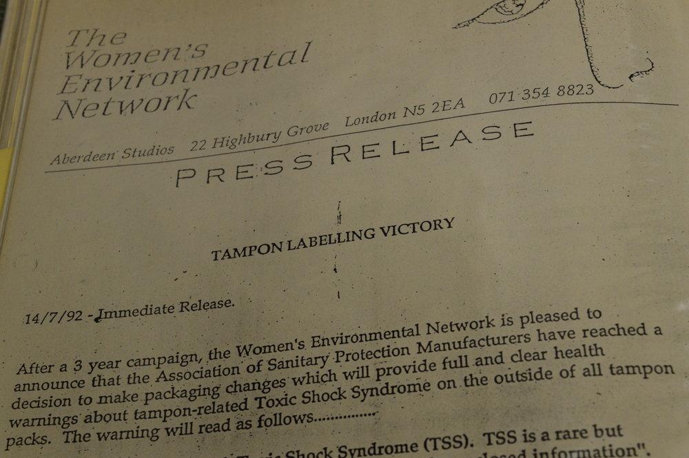 WEN press release from 1992