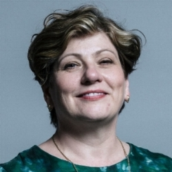 EMILY THORNBERRY MP  Elected Member of Parliament for Islington South & Finsbury. Emily is Shadow Foreign Secretary and has served in a variety of front bench roles, holding the government to account over climate change, the NHS and social care, human rights and the legal system, and defence and security policy.