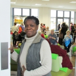 GLENDA TREW Community Garden Outreach   One of Glenda's main interests is growing foods from Africa, the Caribbean and Asia on her allotment in Lewisham. She is also trustee for Phytology @ Bethnal Green Nature reserve, an artist & community led project exploring the use, value, resilience and function of wildness within urban ecosystems.