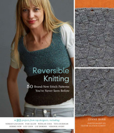 Reversible Knitting By Lynne Barr How We Chose The Cover