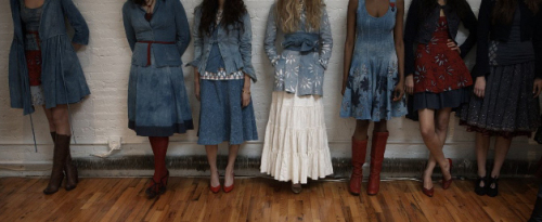 Alabama Chanin Songbirds At Fashion Week Abrams Craft