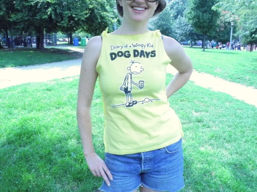 My Diary Of A Wimpy Kid Repurposed Tee Abrams Craft