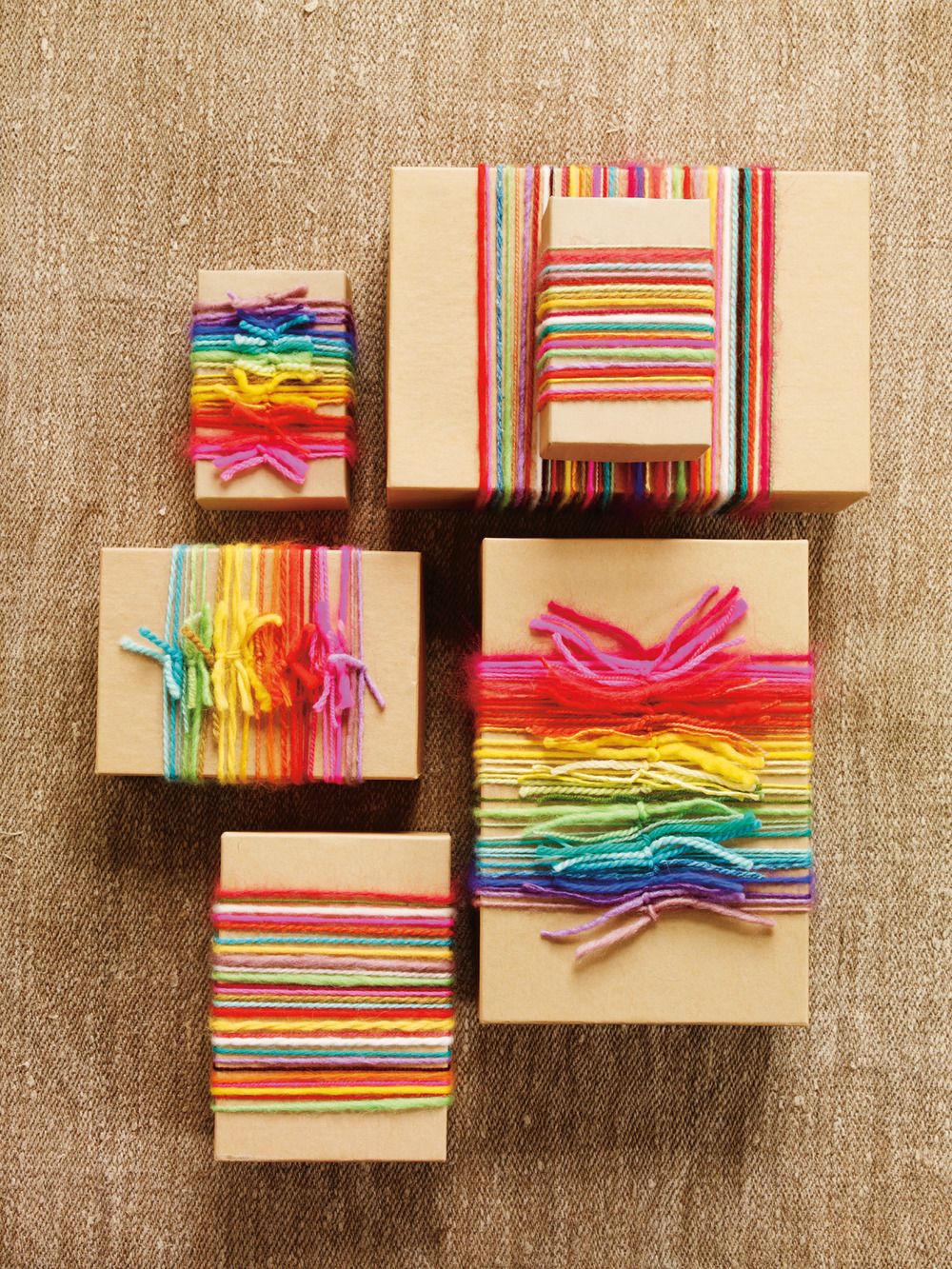 Using Yarn For Decoration