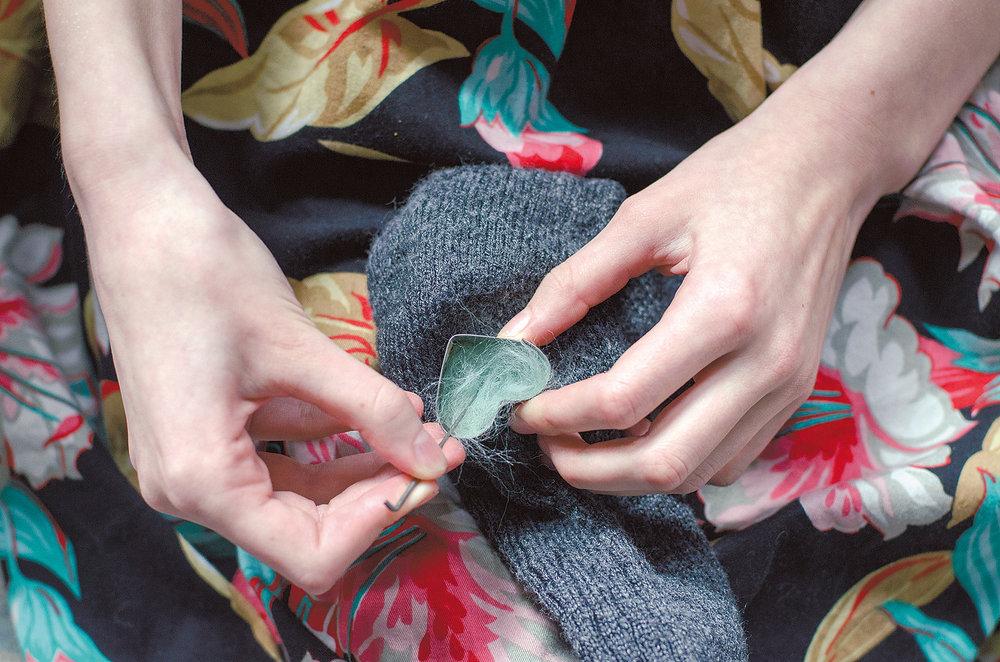 Wool Mending