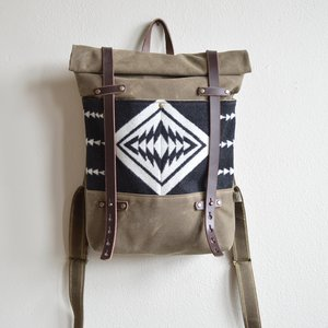 81f26f08f6 Roll Top Backpack - Made with Walking Rock Pendleton® Fabric