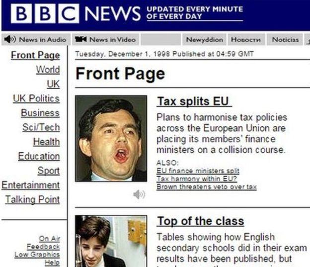 BBC News 1998