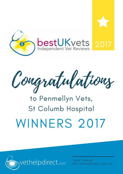 Penmellyn Vets, Winners