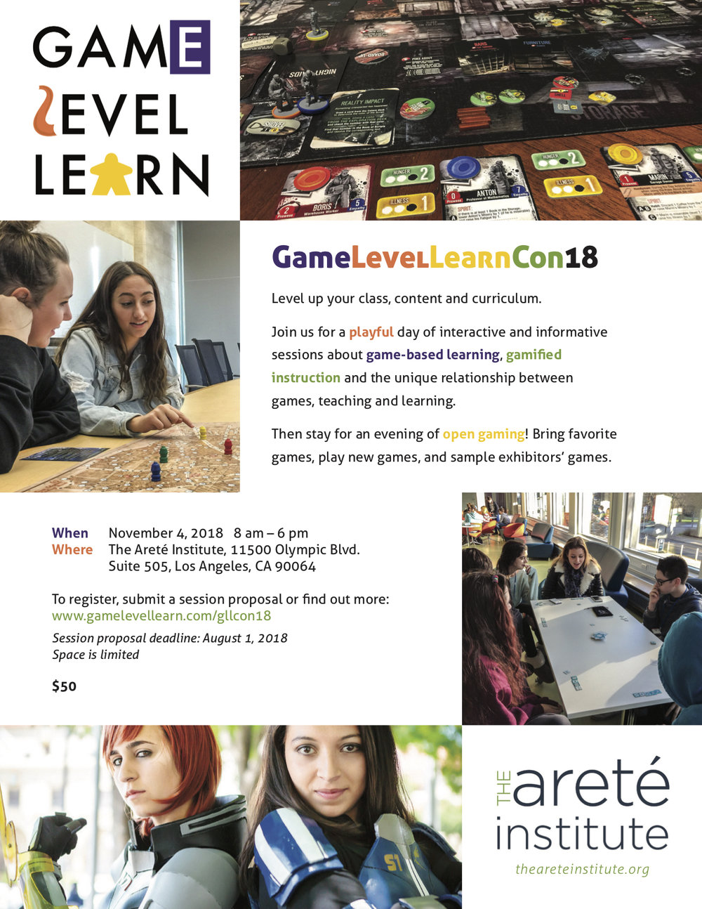 Game Level Learn Con 18 — Game Level Learn