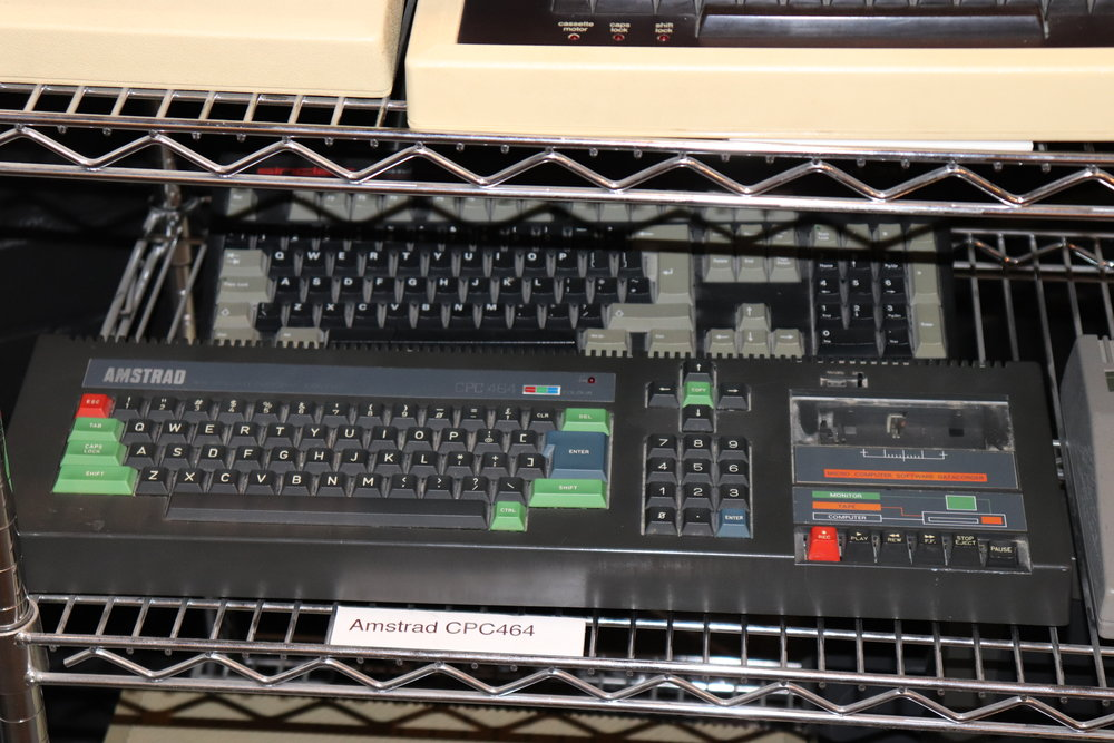 I remember booking a slot in the local library to use one of this Amstrad CPC464