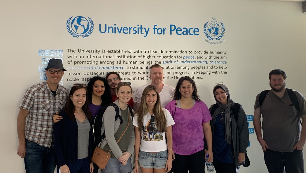Arriving at UPEACE