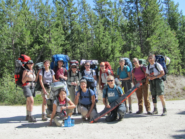 One Horse_sierra club group picture_trail head_BNF_Kaufman.jpg