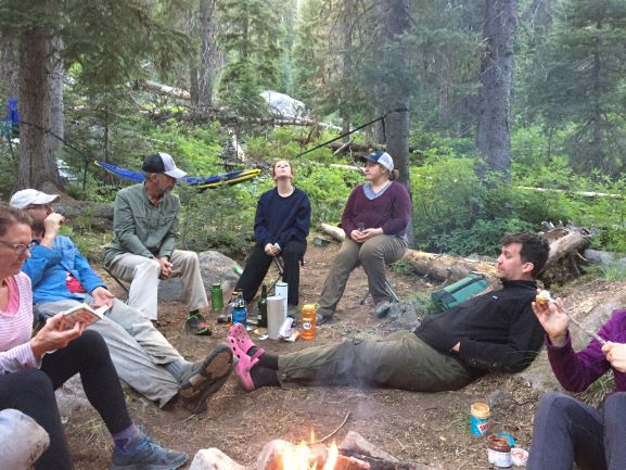 Crew chillin at one of the many afterwork fires.JPG