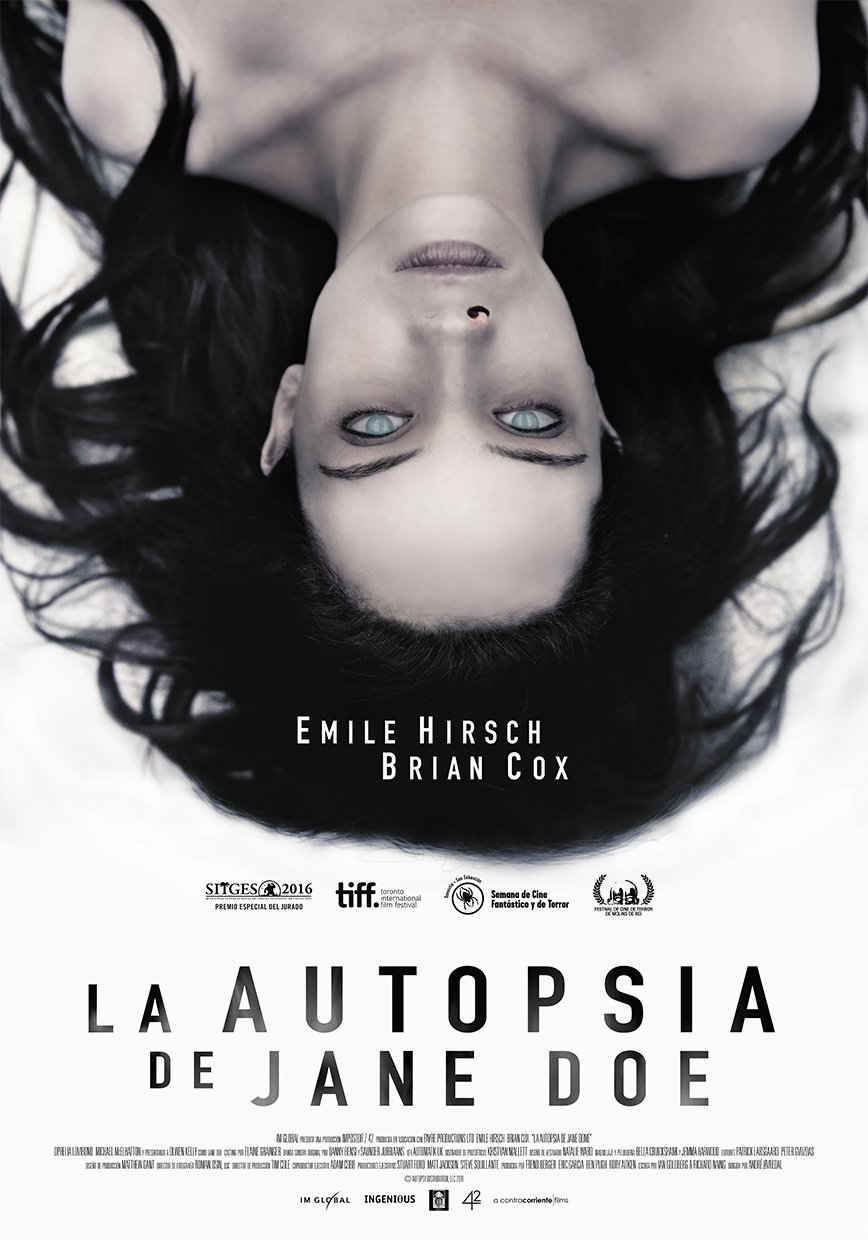 trailer la autopsia de jane doe